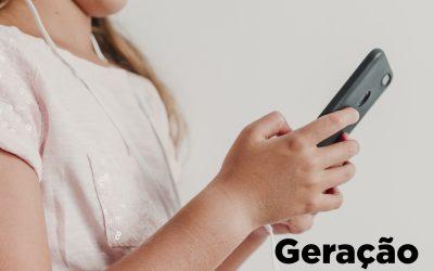 A Geração Alpha e a internet